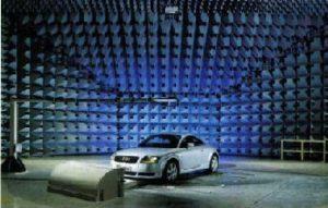EMC Lab for 10m Measuring Distance - EMC Laboratory Audi AG