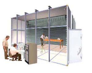 EMC Lab for 3m Measuring Distance - MIL-STD 461e